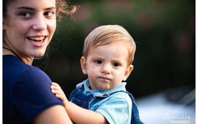 Family Photoshoot at playground
