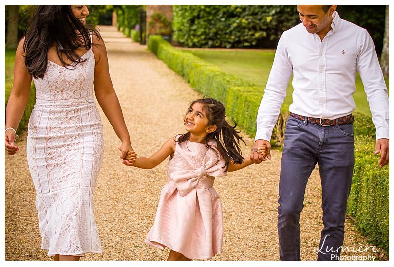 family photos at stapleford park