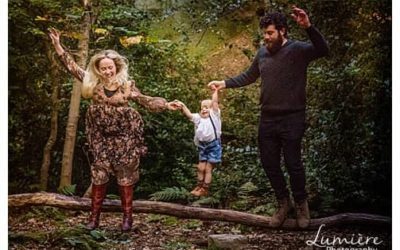 Family photoshoot with a two year old in Yorkshire.