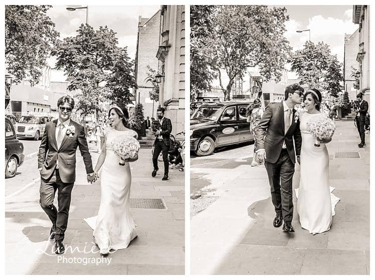 Chelsea registry wedding with reception at the Lanesborough Hotel